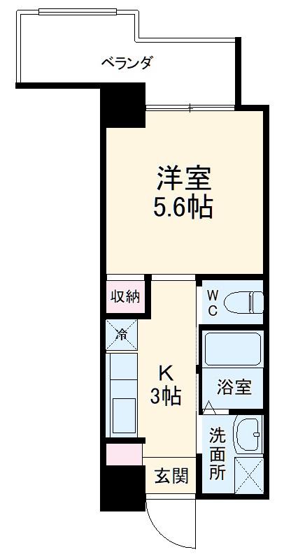 トーマス沖縄東Ⅱ・201号室の間取り