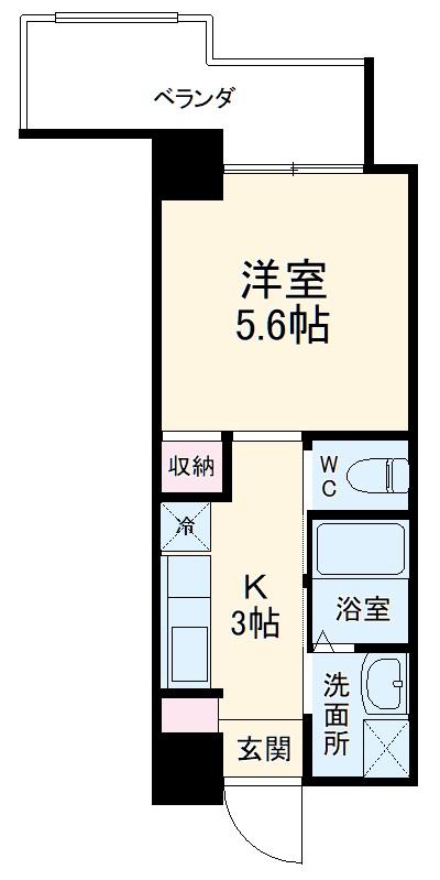 トーマス沖縄東Ⅱ・301号室の間取り