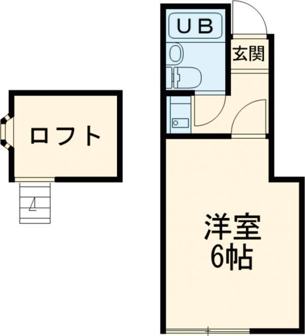 セント・メゾン宇喜田・102号室の間取り