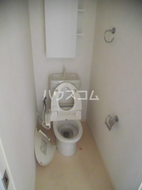 レジディア船橋Ⅰ 205号室のトイレ
