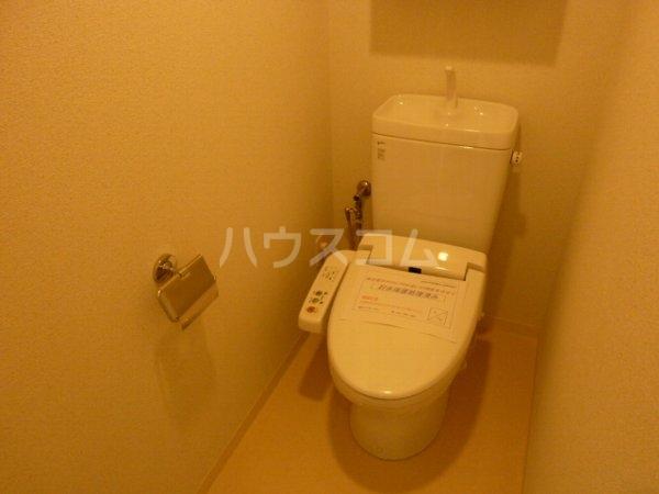 レジディア船橋Ⅰ 907号室のトイレ