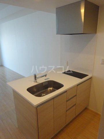 グランガーデンⅢ 3203号室のキッチン
