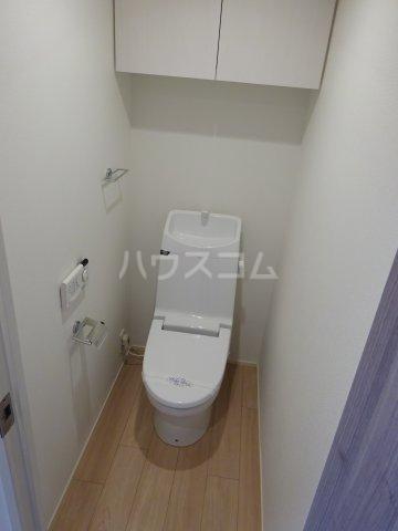 グランガーデンⅢ 3203号室のトイレ
