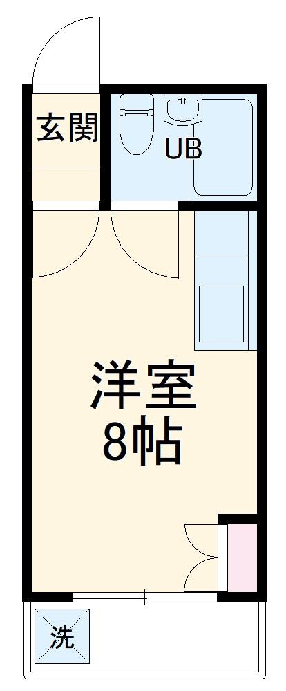メゾン池田・201号室の間取り