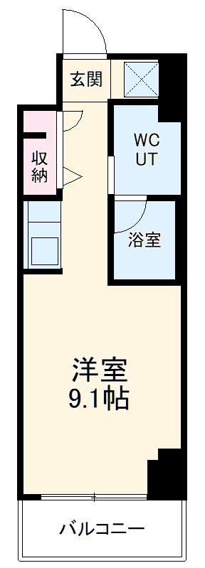 スパシエ東神奈川・204号室の間取り