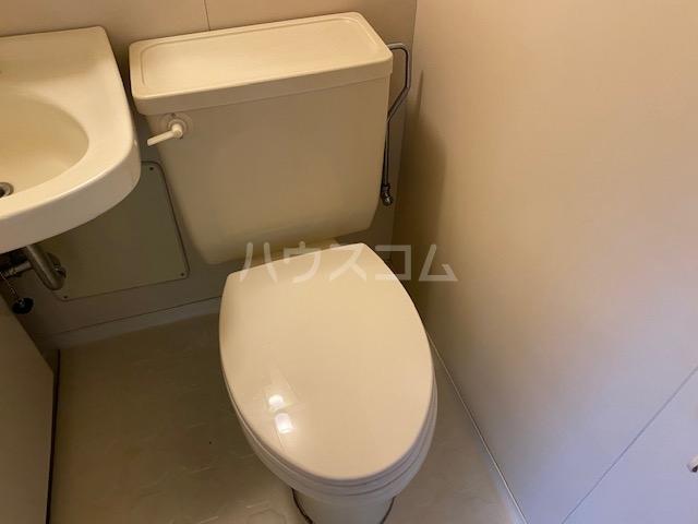 藤花マンション 208号室のトイレ