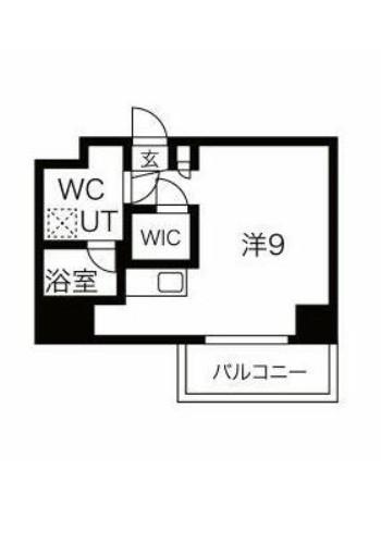 スパシエ東神奈川・811号室の間取り