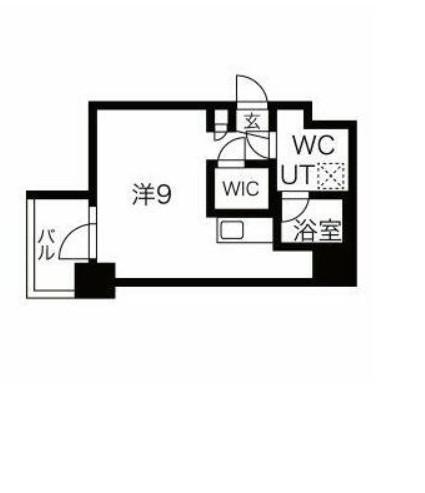 スパシエ東神奈川・512号室の間取り