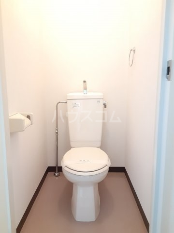CKすずかけ台 327号室のトイレ
