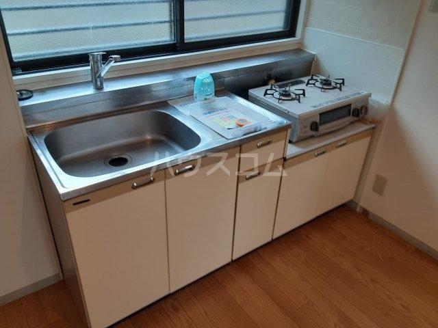 サンハイツ鶴巻 101号室のキッチン