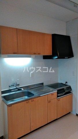 エンリービル 1A号室のキッチン