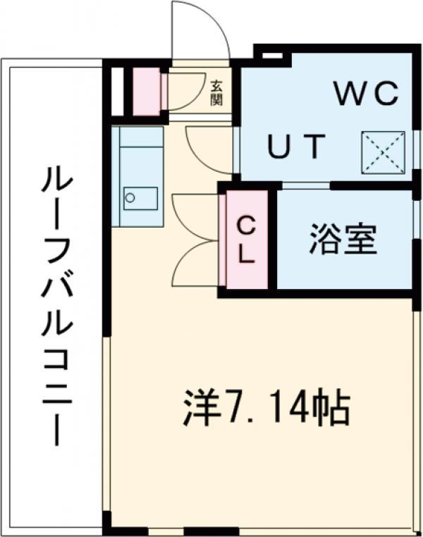 ASTILE 三軒茶屋Ⅲ・401号室の間取り