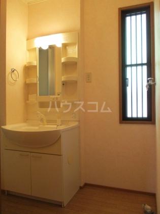 シャンテ 101号室の洗面所