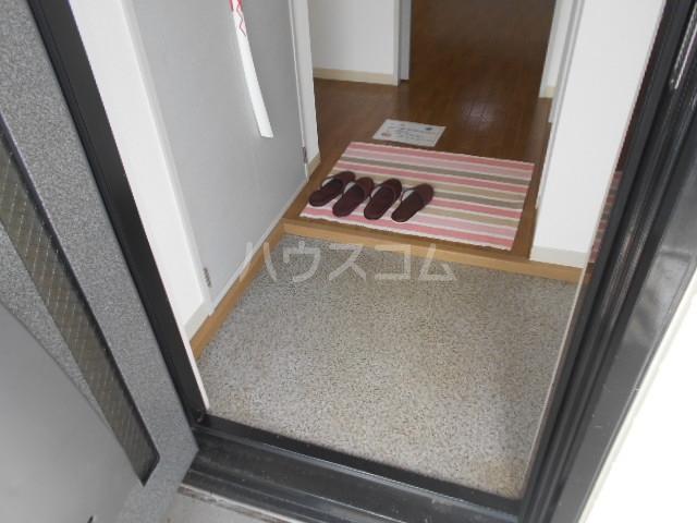 サンリバーⅠ 201号室の玄関