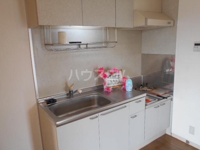 サンリバーⅠ 201号室のキッチン