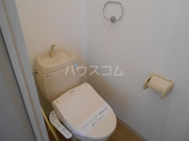サンリバーⅠ 201号室のトイレ