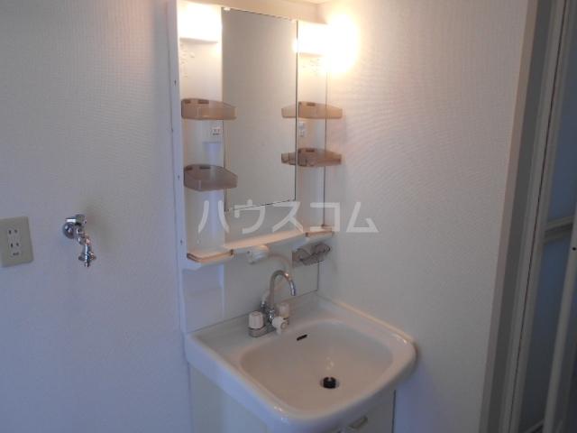 サンリバーⅠ 201号室の洗面所