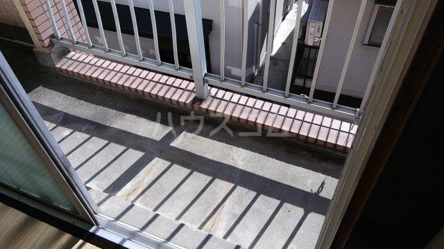 第16島田マンション 307号室のバルコニー