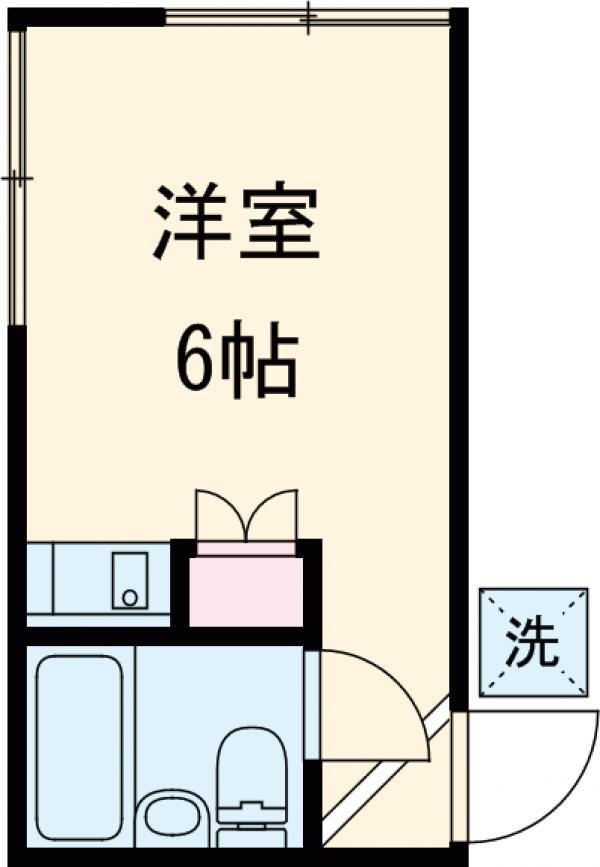 宮野ハウス 105号室の間取り