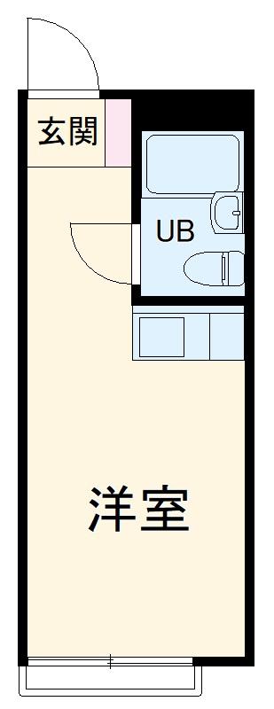 セイコーガーデンⅡ・106号室の間取り