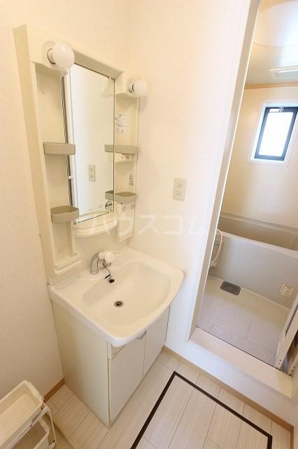 エスポワール立野A 201号室の洗面所