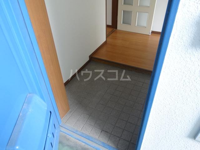雉の上コーポラス 204号室の玄関