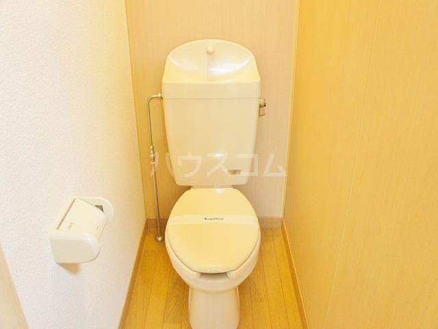 レオパレス如意申 205号室のトイレ