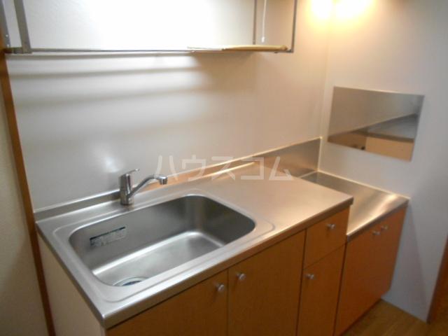 コスモ下山 203号室のキッチン