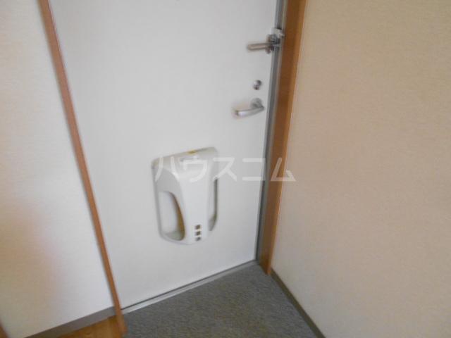 コスモ下山 203号室の玄関