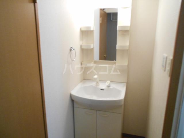 コスモ下山 203号室の洗面所