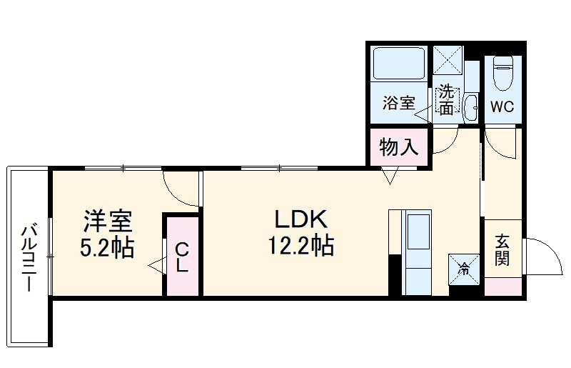 仮称)D-room豊田市土橋町ハイツ 303号室の間取り
