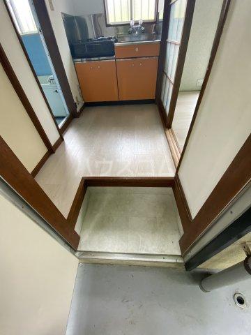 コートビレジA 3-B号室の玄関