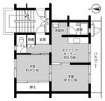 ビレッジハウス大須賀1号棟・505号室の間取り