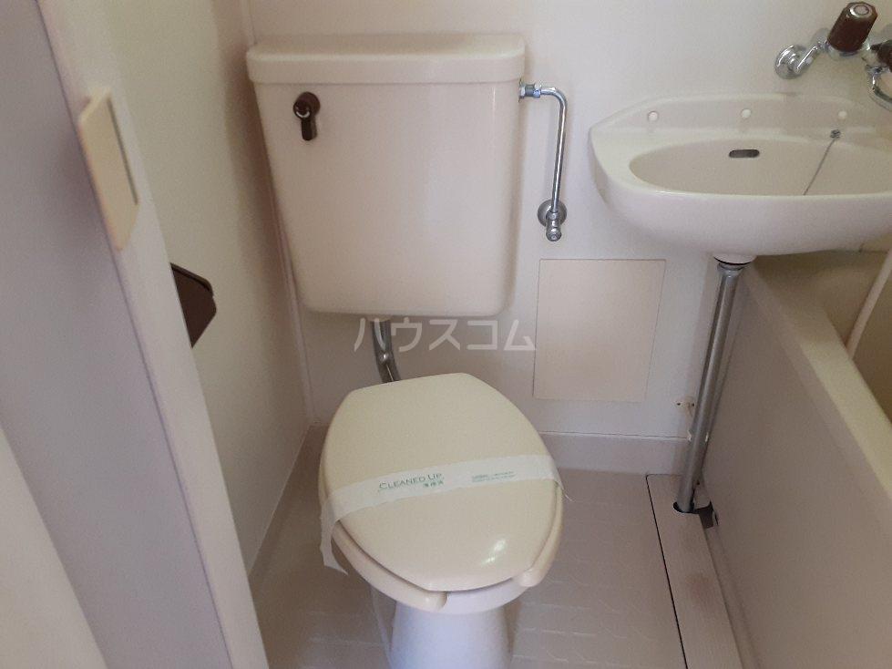 アクアマリン 1-B号室のトイレ