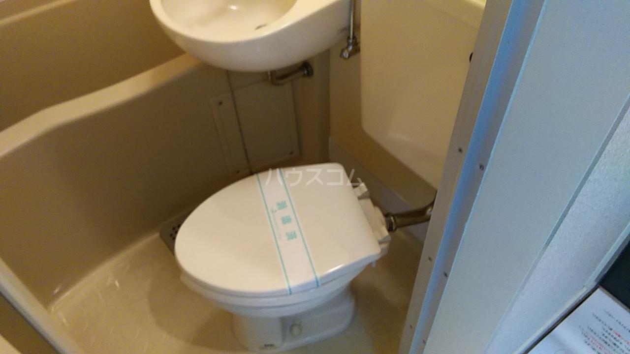 田村アパートメント 102号室のトイレ