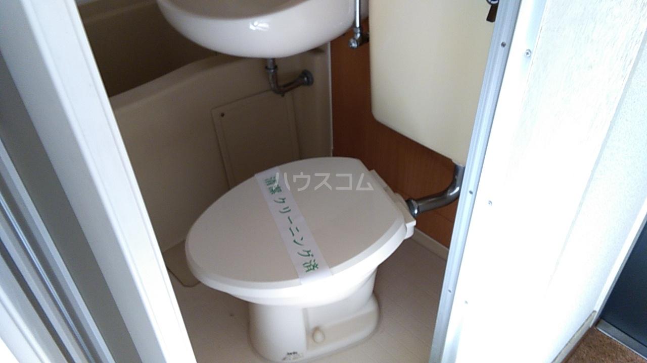 田村アパートメント 201号室のトイレ