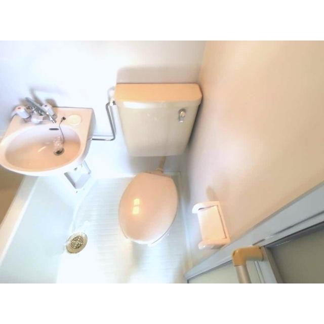 第100オーナーズビル 301号室の洗面所