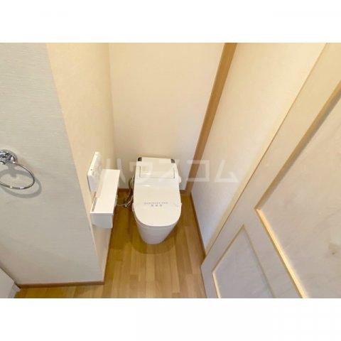 リブレス新河岸Ⅴ 旧新河岸元寮 106号室のトイレ