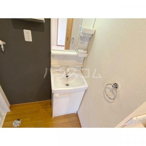 リブレス新河岸Ⅴ 旧新河岸元寮 106号室の洗面所