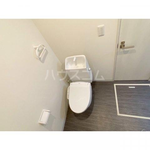 リブレス新河岸Ⅴ 旧新河岸元寮 107号室のトイレ