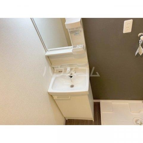 リブレス新河岸Ⅴ 旧新河岸元寮 107号室の洗面所