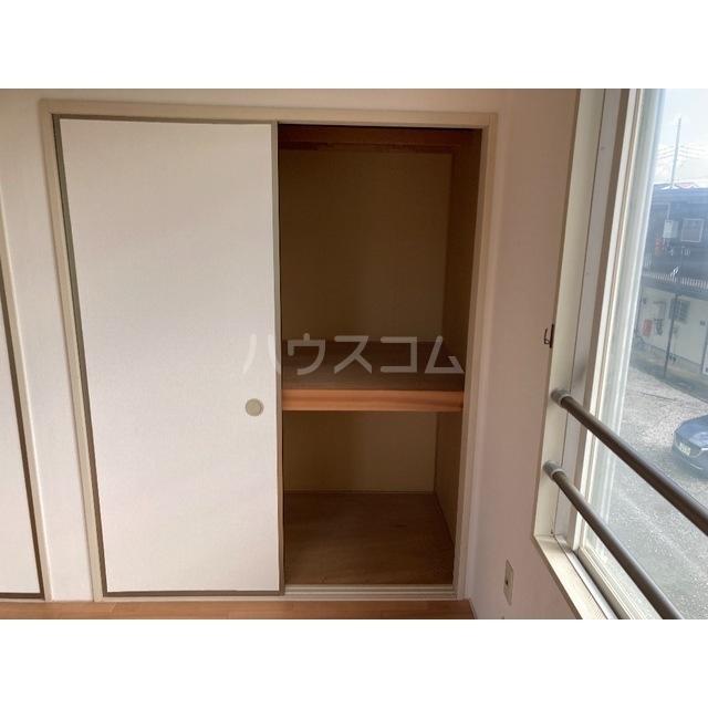 フレグランスワタヌキ2号館 202号室の収納
