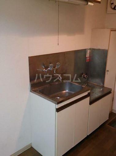 エルピア 201号室のキッチン