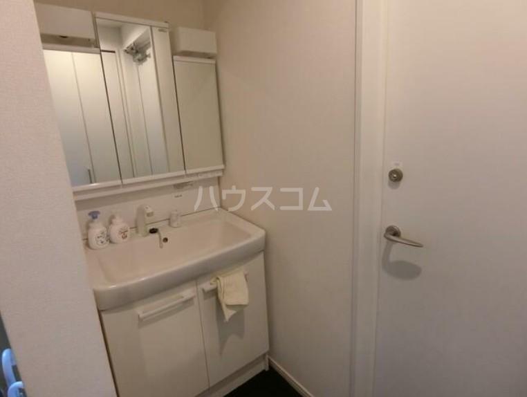 ヒッポハウス桜 104号室の洗面所