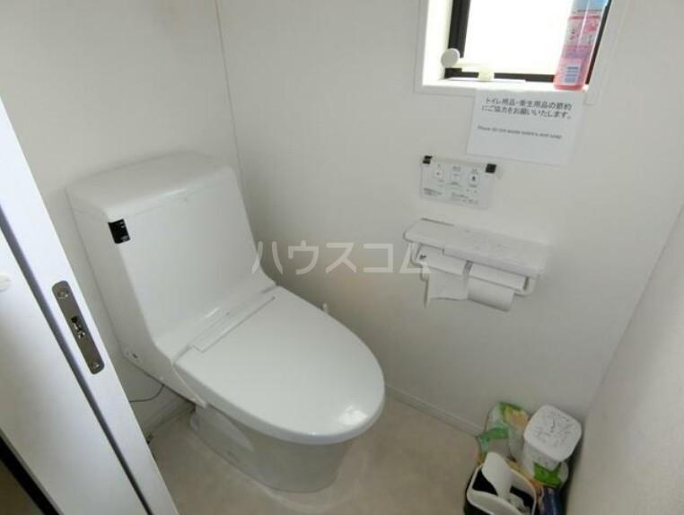 ヒッポハウス桜 104号室のトイレ