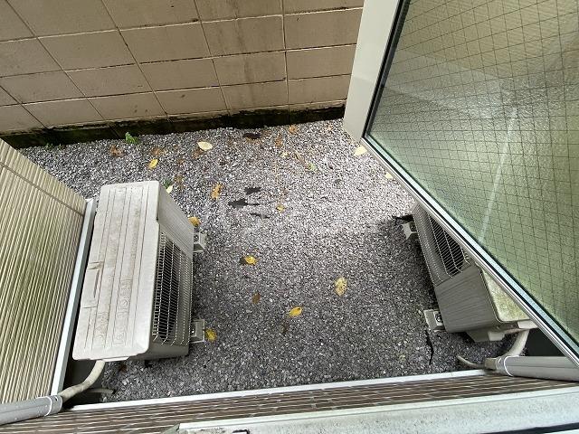 ヒッポハウス桜 104号室のバルコニー