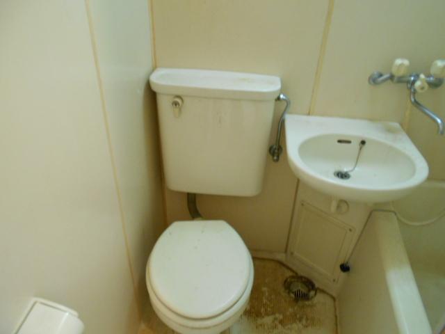 プレジール鈴木 201号室のトイレ