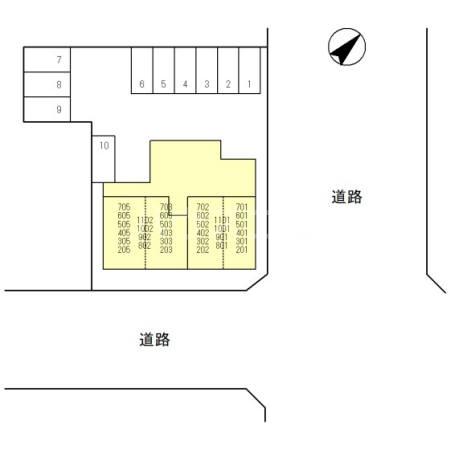 (仮)大宮1丁目レジデンス 802号室のその他共有