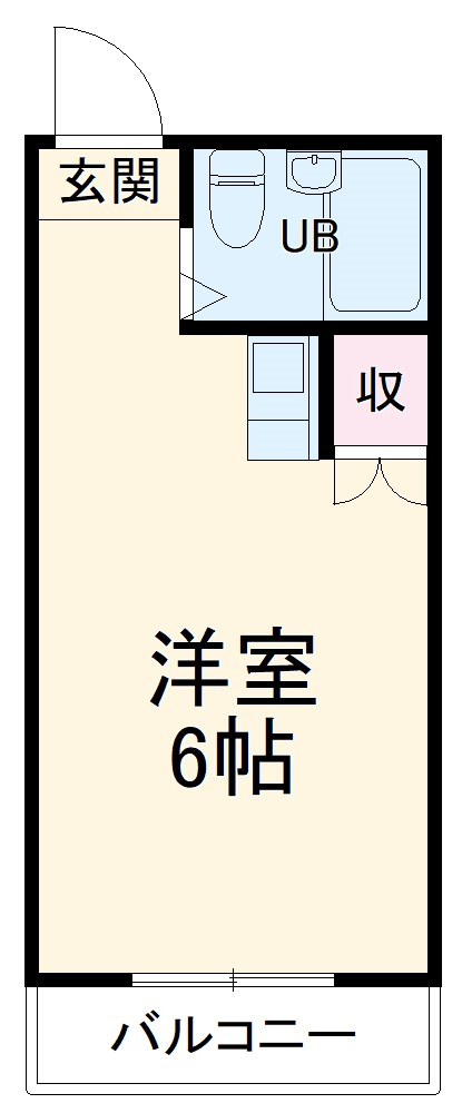 サンサーラ弘明寺Ⅱ・103号室の間取り