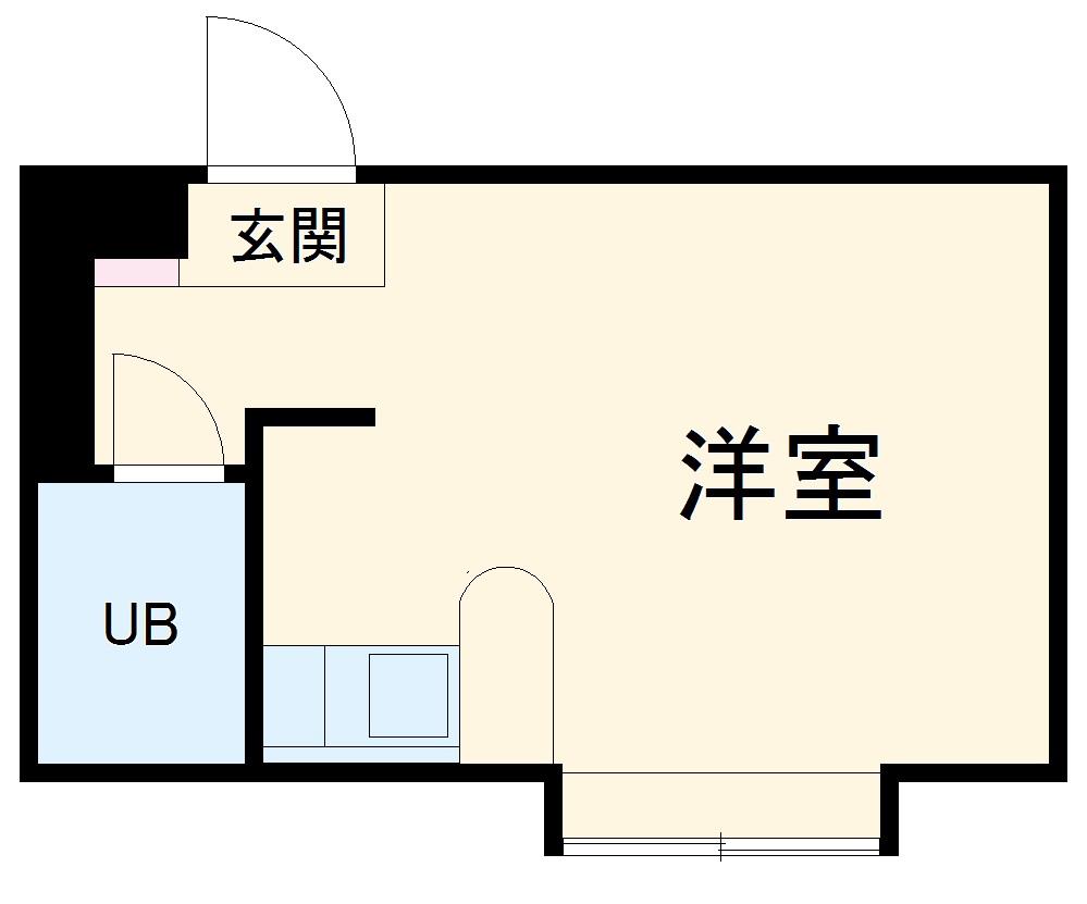ベルピア茅ヶ崎第10・102号室の間取り